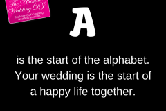 A to Z of Weddings